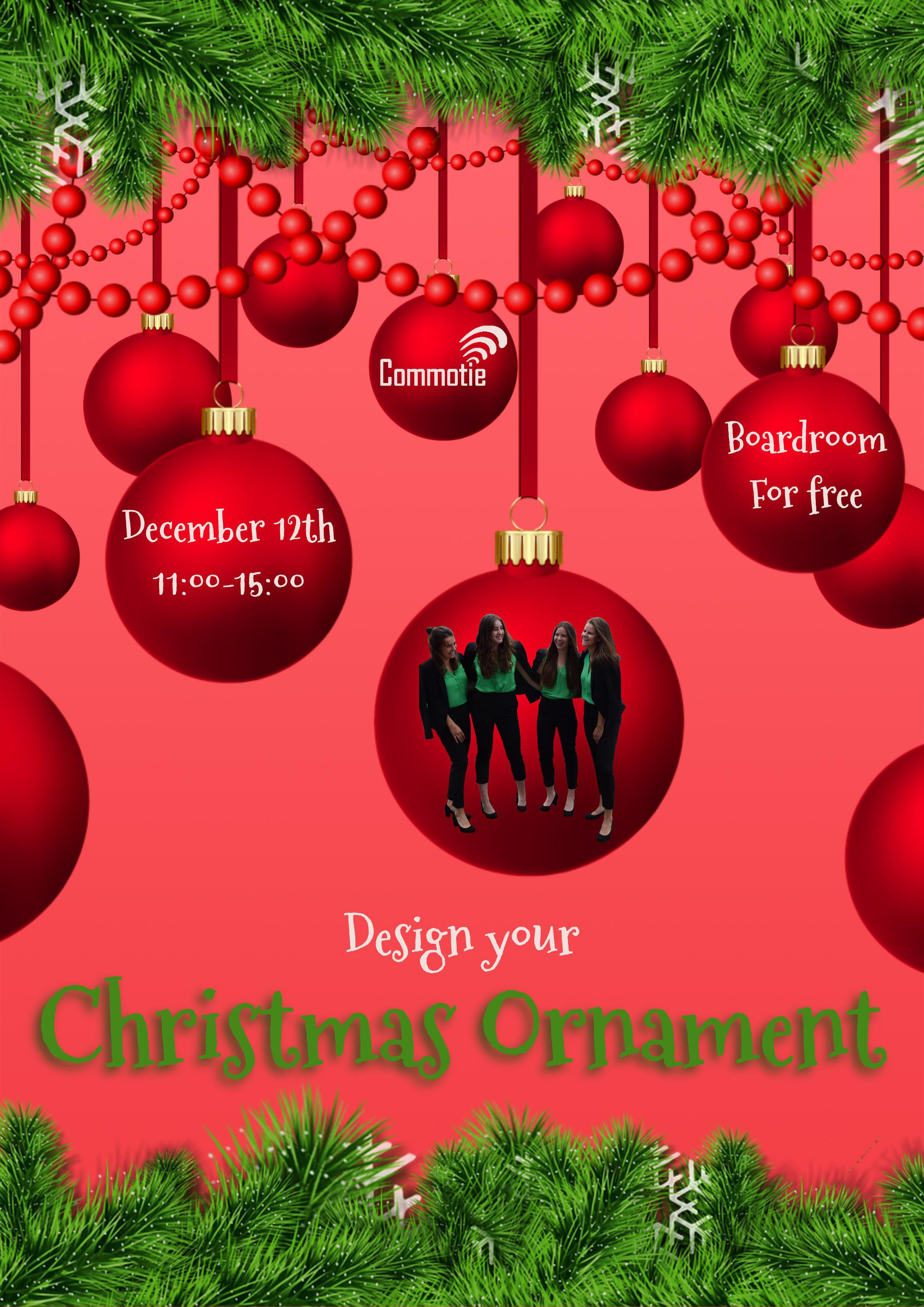 Boardroom Special: Design your Christmas ornament