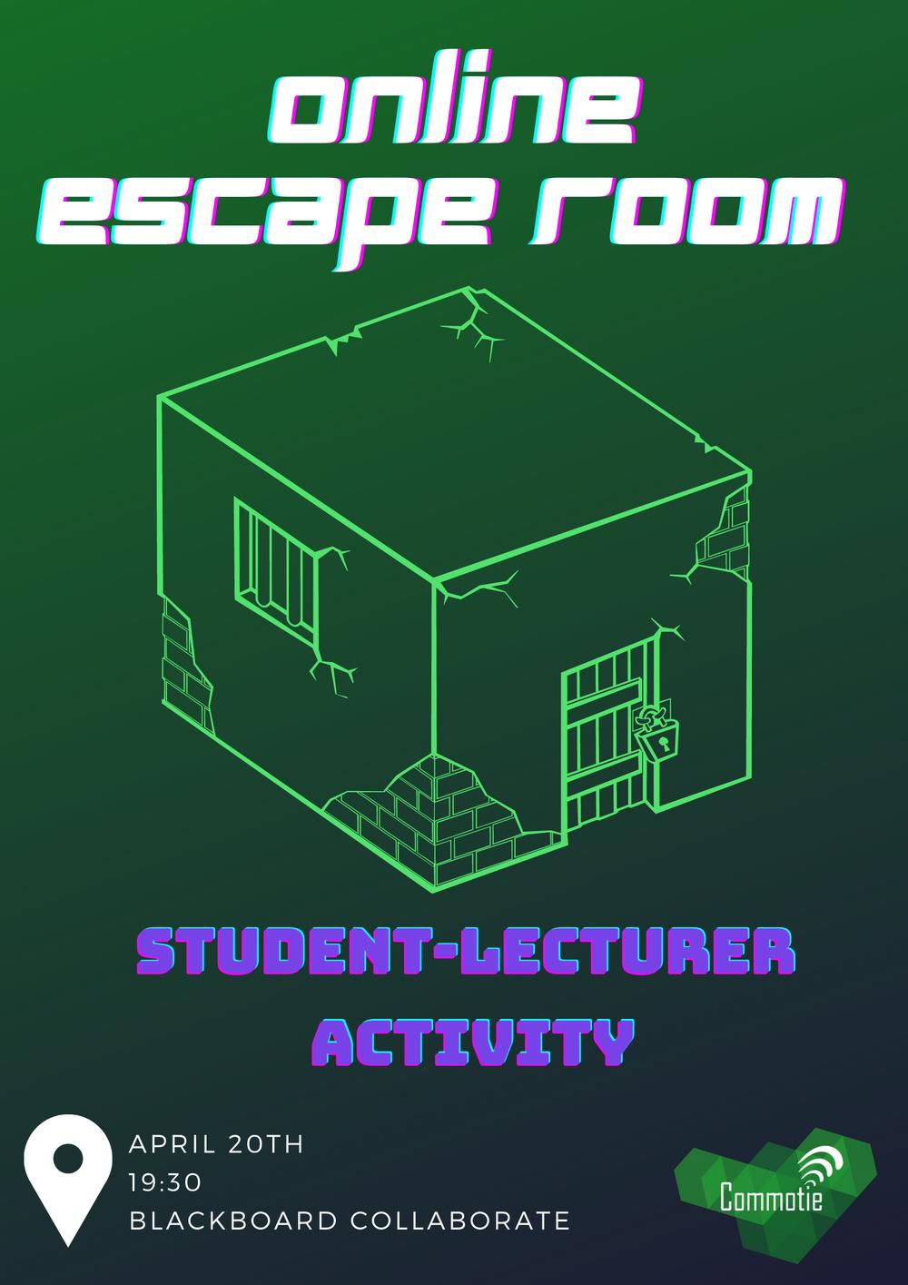 Student-Lecturer Activity: Online Escape Room
