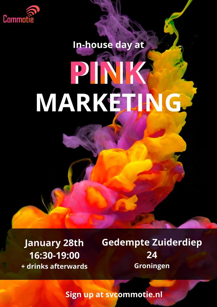 In-house day: Pink Marketing