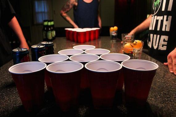 Monthly social: Beer Pong