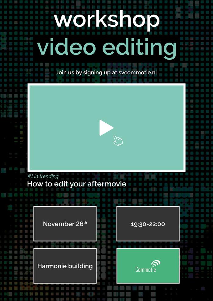 Workshop: Video editing