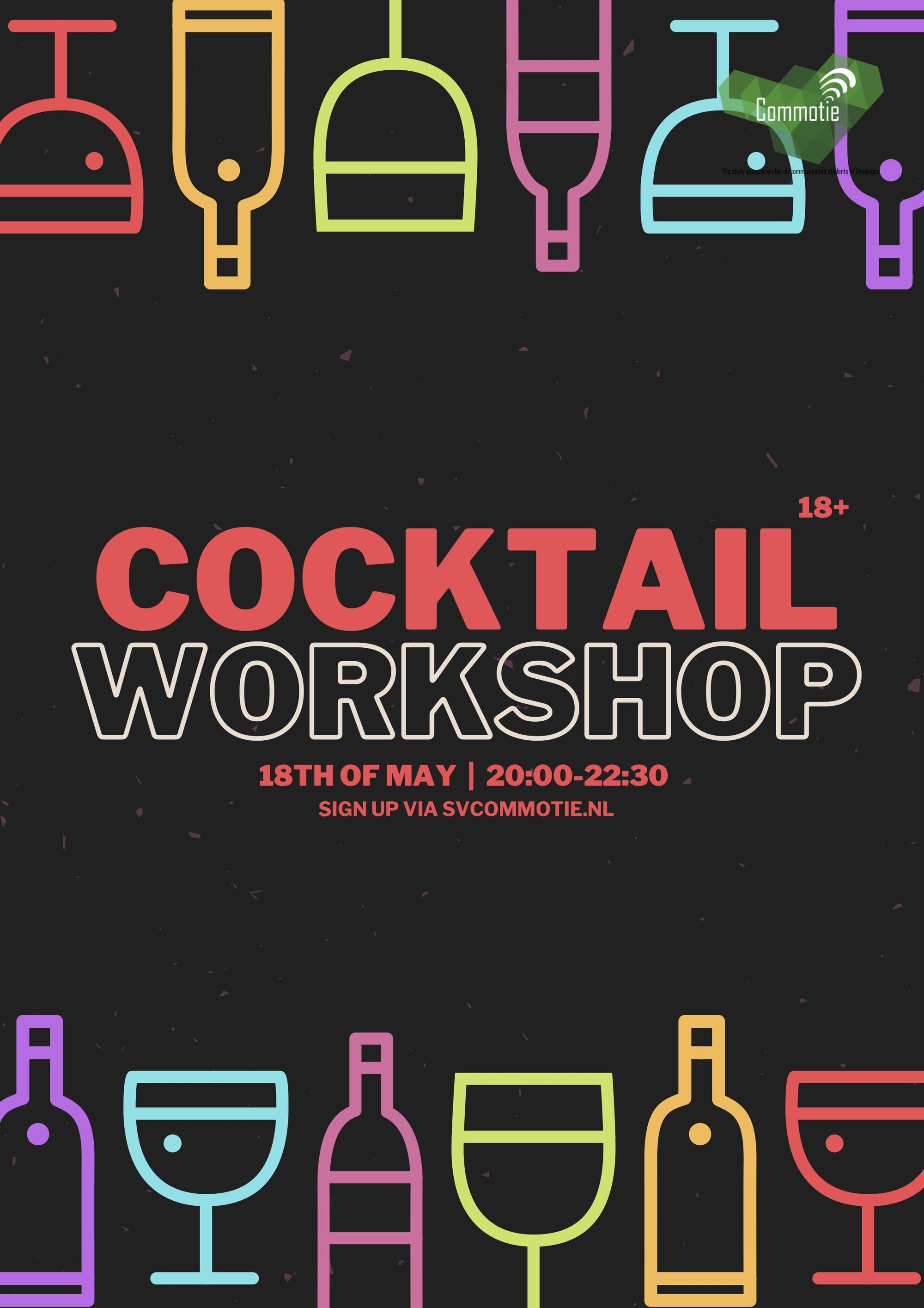 Online Social: Cocktail Workshop