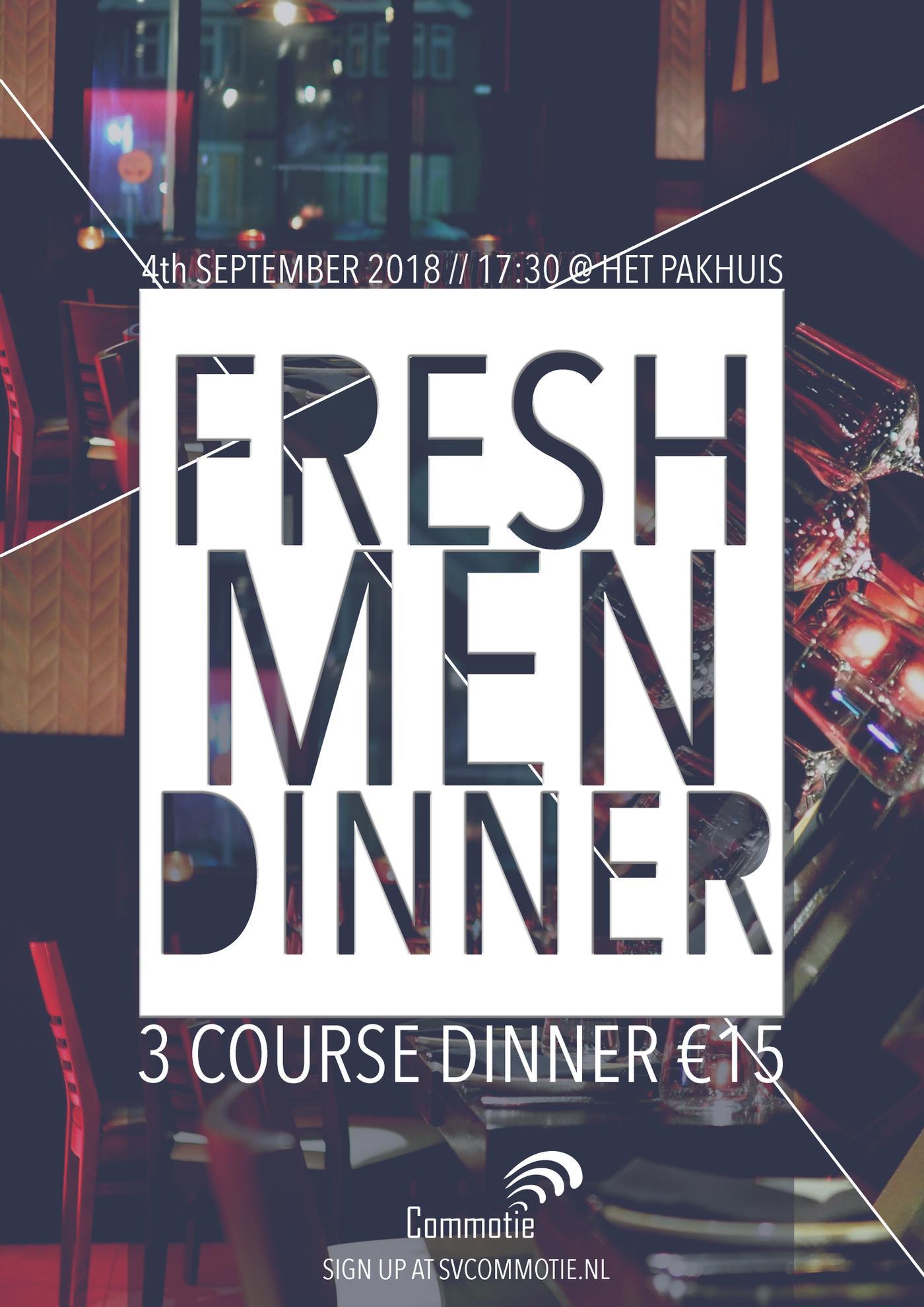 Freshmen dinner