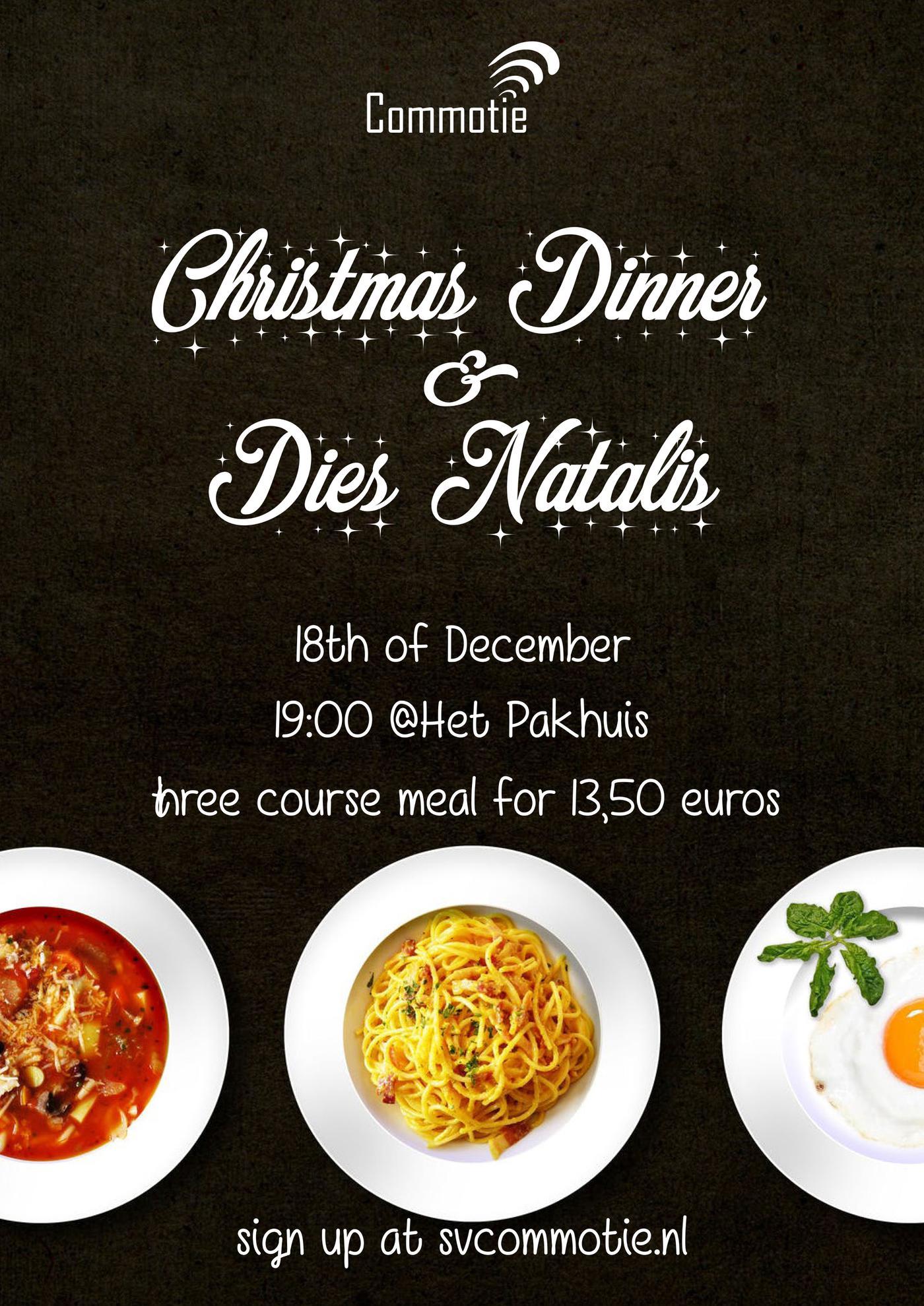 Christmas Dinner & Dies Natalis