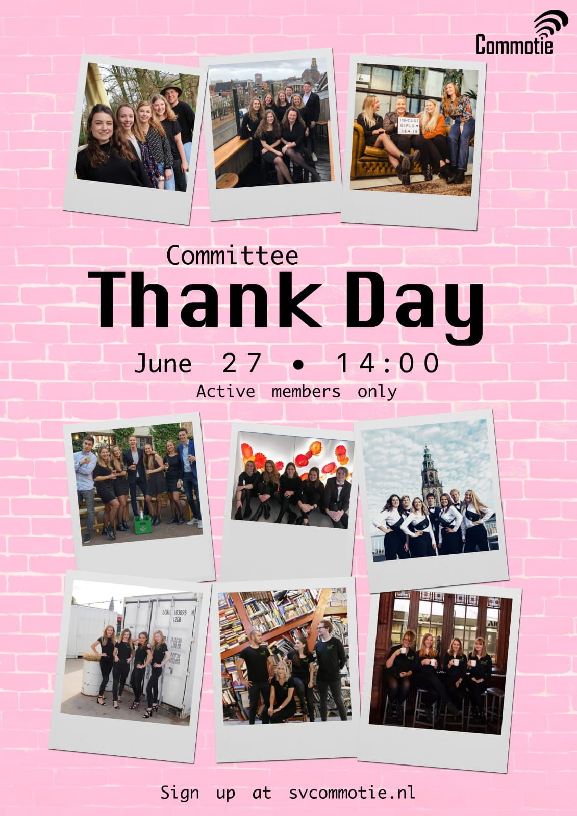 Committee Thank Day