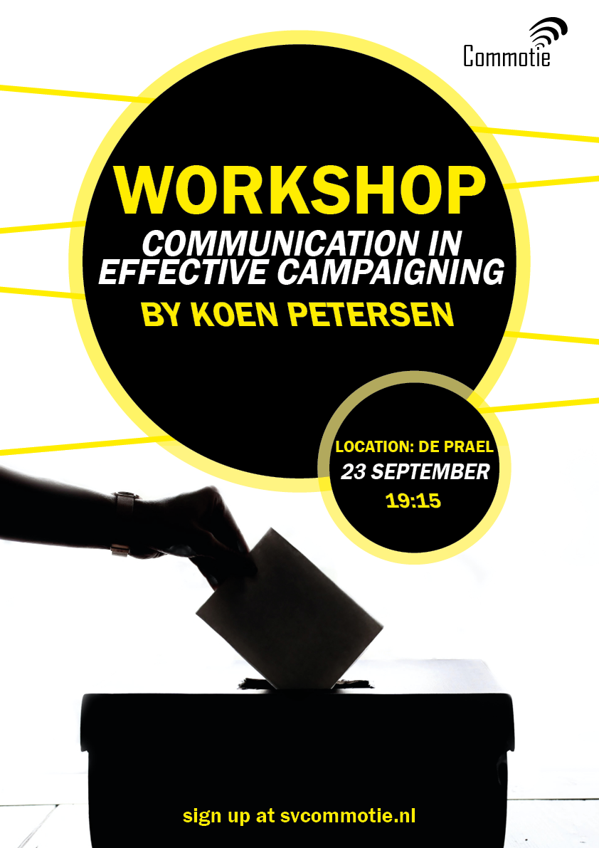 StuCee Workshop: Communication in effective campaigning