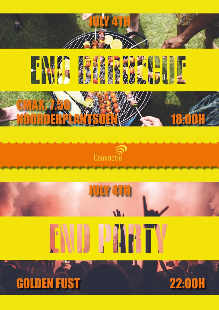 End of the year barbecue + party