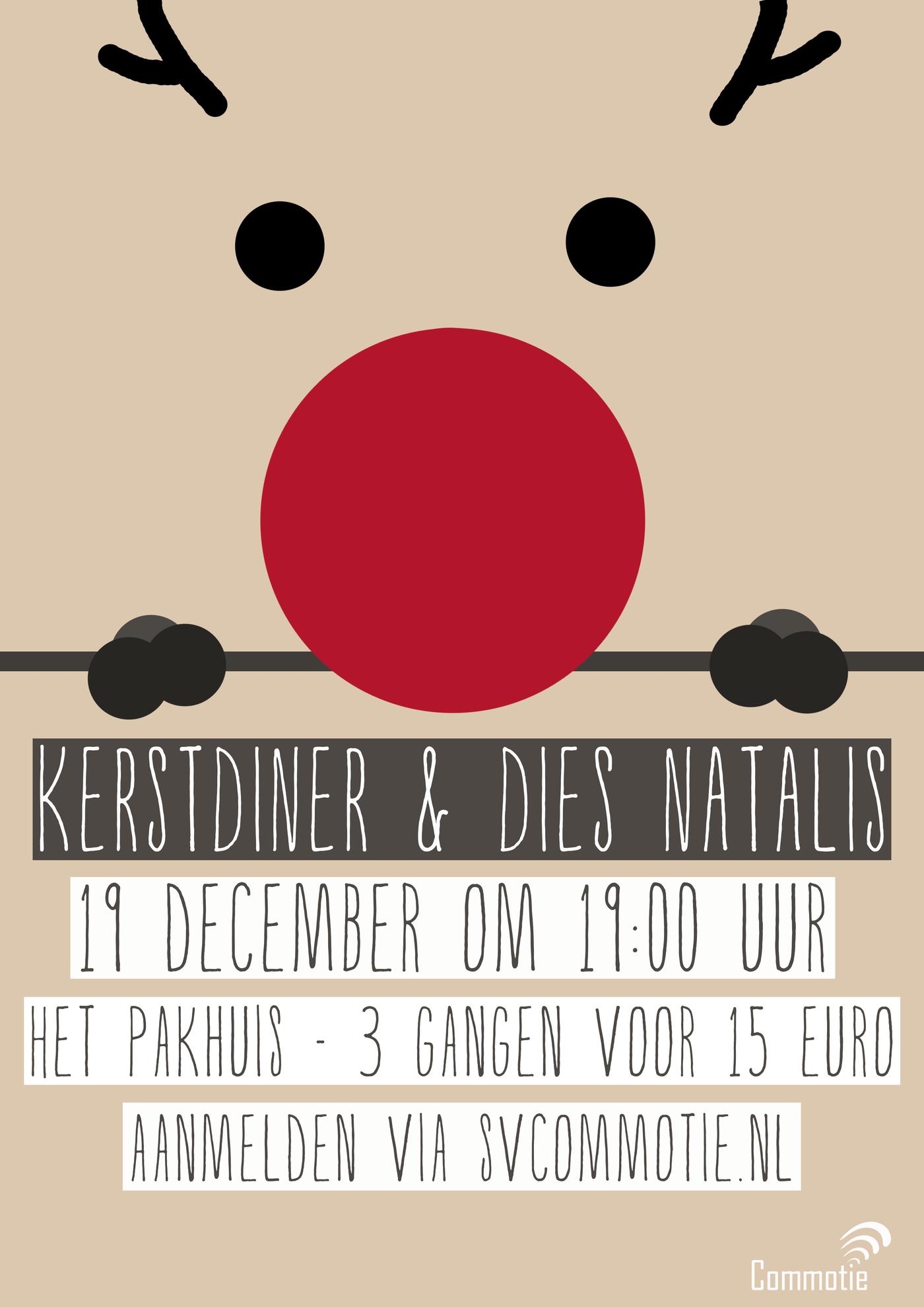 Kerstdiner + Dies Natalis