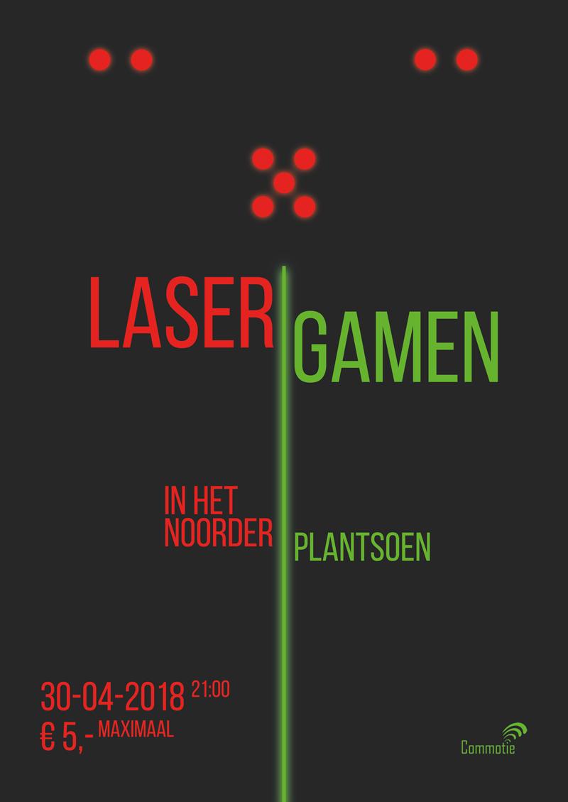 AkCie activiteit: lasergamen in het Noorderplantsoen